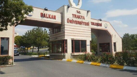 kuliah di trakya university
